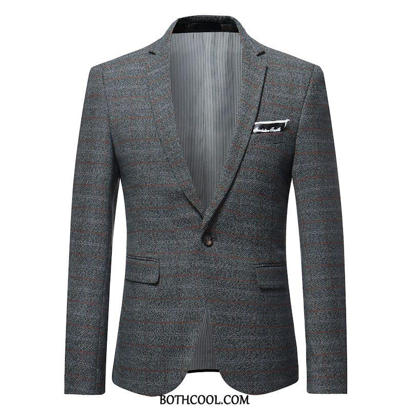 Blazer Mens Cheap Coat Men Casual Trend Men's Spring Gray