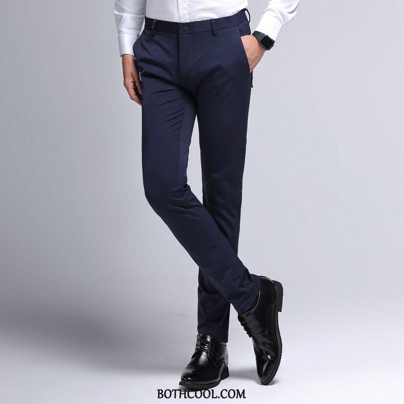 Suit Pants Mens Online Autumn Business All-match Slim Fit Men's Professional