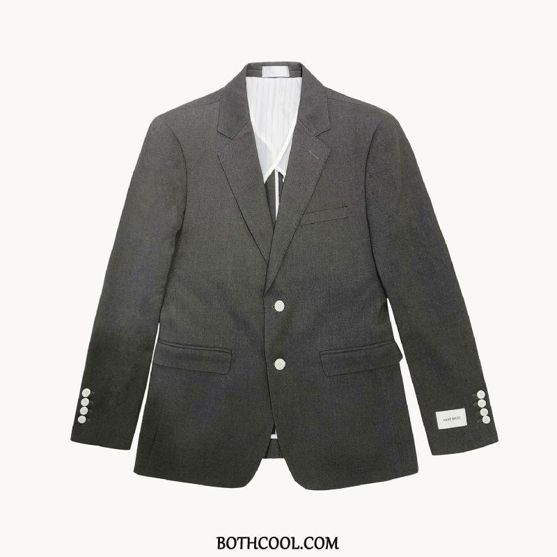Suits Mens Buy Europe Summer Slim Fit Suit Spring Handsome Black