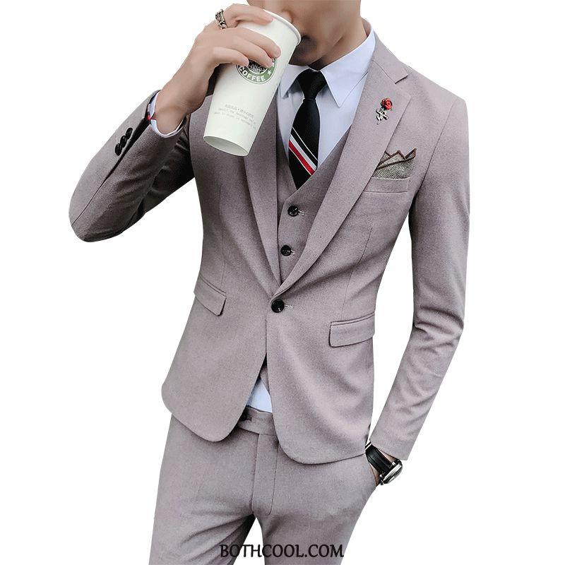 Kostymer Herr Till Salu Slim Fit Kostym Klänning Dräkter