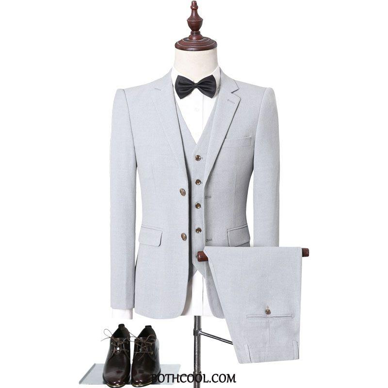 Suits Mens For Sale Best Man Marriage Suit Europe Men Bridegroom Light Coffee