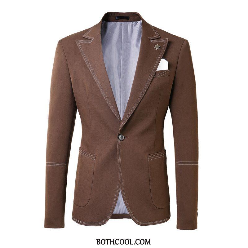 Suits Mens Online Suit Trend Set Bridegroom Two Pieces Handsome