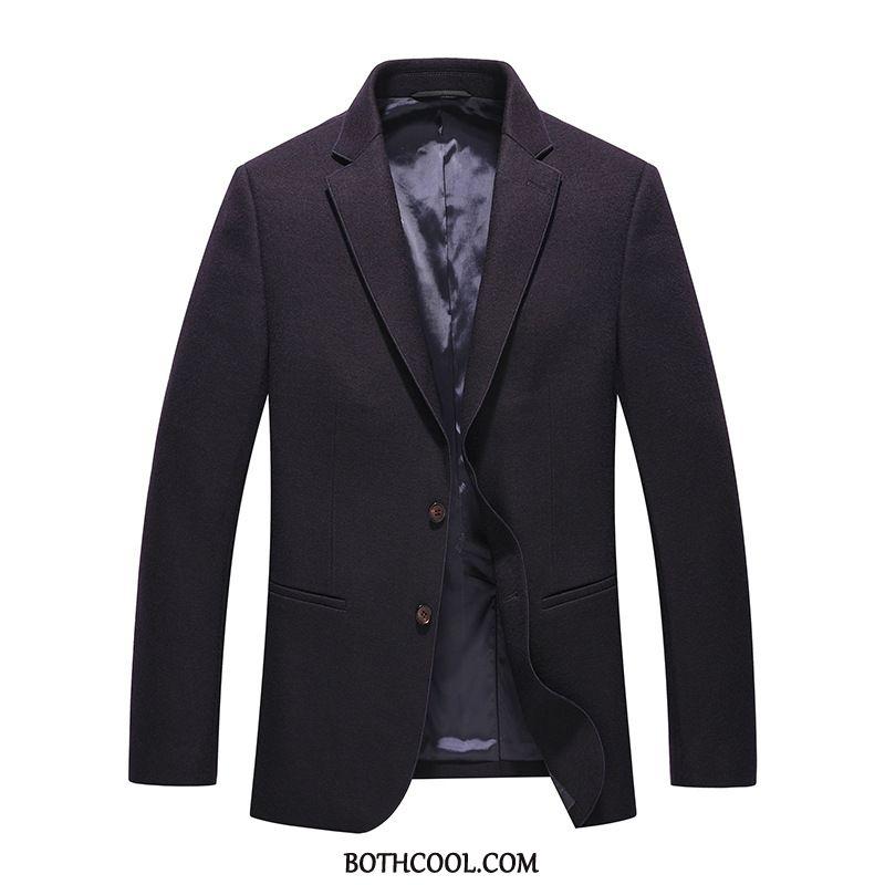 Blazer Mens Cheap Men Men's Coat Autumn Wool Casual
