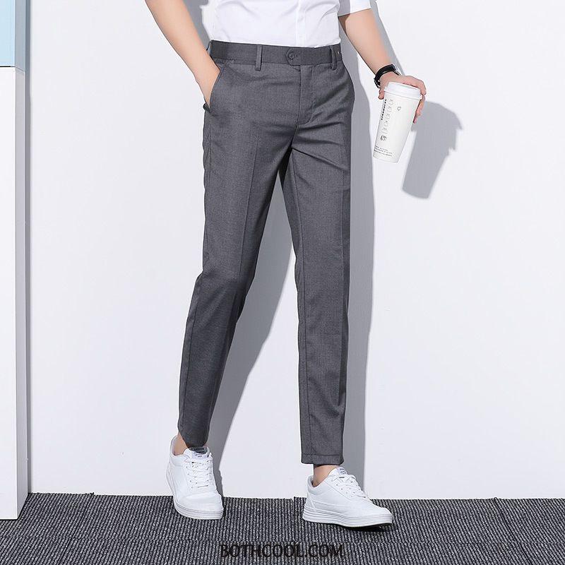Suit Pants Mens Buy Formal Suit Business Slim Fit Men's Casual Suit Pants Black