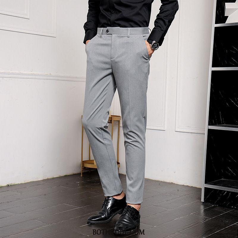 Suit Pants Mens Buy Formal Suit Multicolor Straight Slim Fit Men's Business