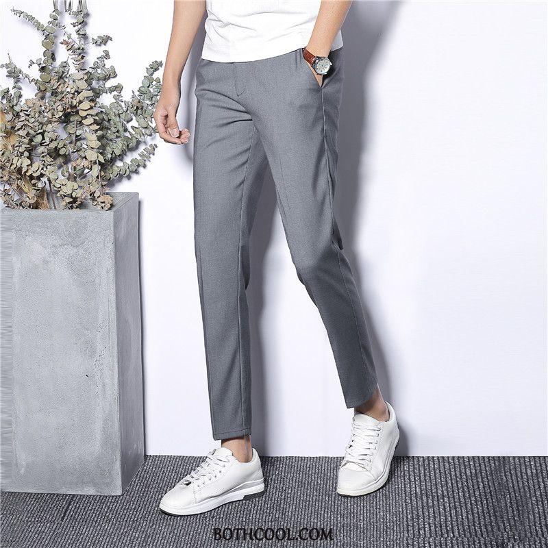 Pantaloni Da Abito Uomo Negozio Business Moda Gioventù Tendenza High End Autunno