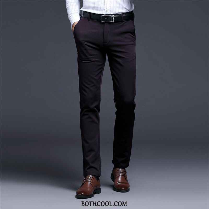 Suit Pants Mens Cheap Autumn Men's Casual Straight Trousers Trend