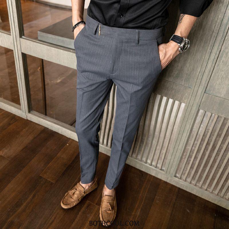Suit Pants Mens Cheap British Autumn Suit Pants New Casual Europe