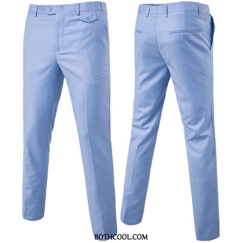 Pantaloni Da Abito Uomo Economici Pantaloni Da Abito Qualità Moda Tutto Corrisponde Uomo Tendenza Puro