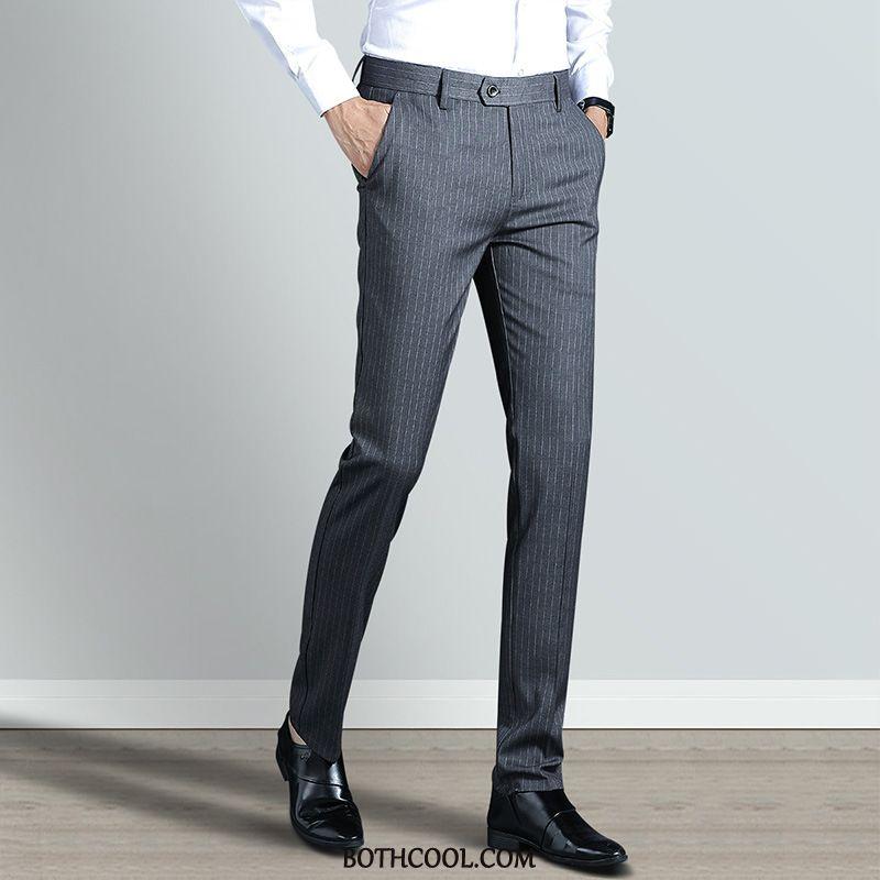Suit Pants Mens Cheap Formal Suit Suit Pants Straight Men Spring Slim Fit Gray