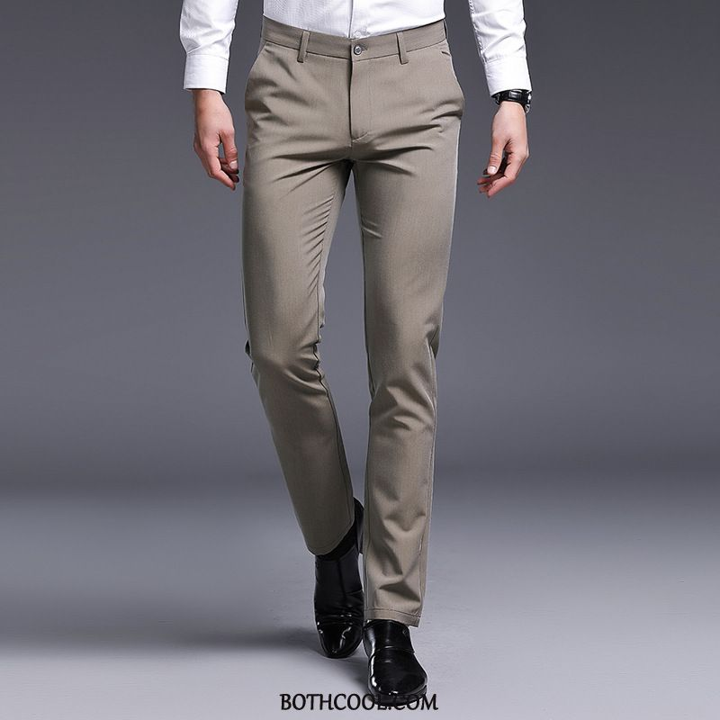 Suit Pants Mens Cheap Men Casual All Seasons Youth Fashion Formal Suit