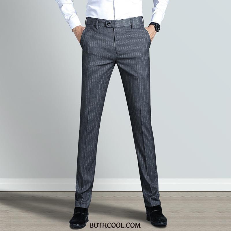 Suit Pants Mens Cheap Men Suit Pants Youth Autumn Elasticity Formal Suit