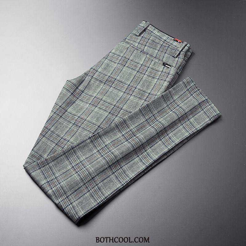 Suit Pants Mens Cheap Slim Fit All-match Autumn New Trend Trousers