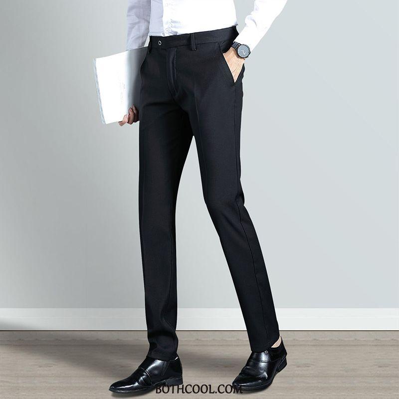 Suit Pants Mens Discount Men's Anti Wrinkle Men Autumn Suit Pants Winter