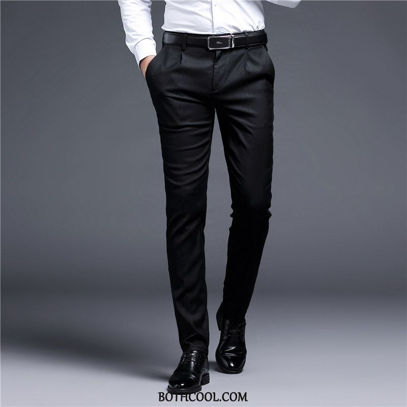 Suit Pants Mens Online Sale Formal Suit Thicker Youth Business Slim Fit Men's