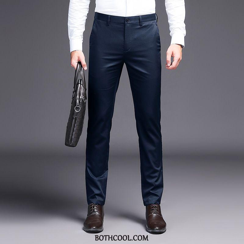 Suit Pants Mens Online Slim Fit Men Autumn Trousers Suit Pants Men's