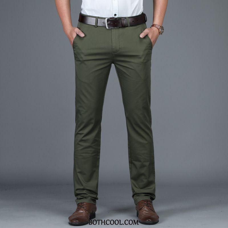 Suit Pants Mens Online Suit Pants Loose Men's Casual High Waist Elasticity Gray