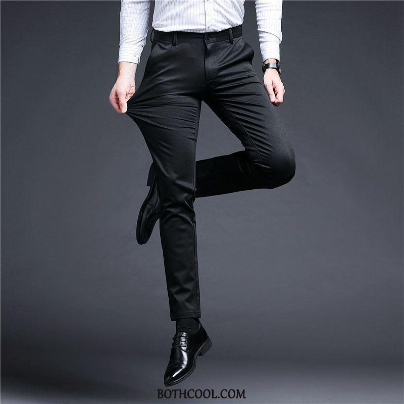 Suit Pants Mens Sale Slim Fit Trousers Youth Casual Men's New