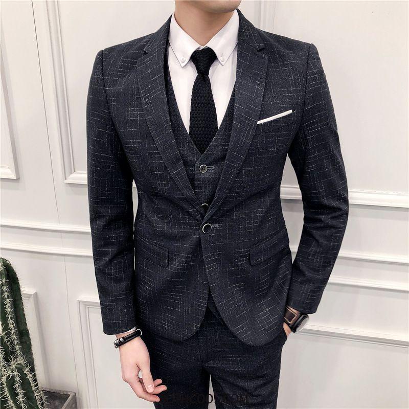 Suits Mens Cheap Suit Best Man New Europe Dress Three Sets
