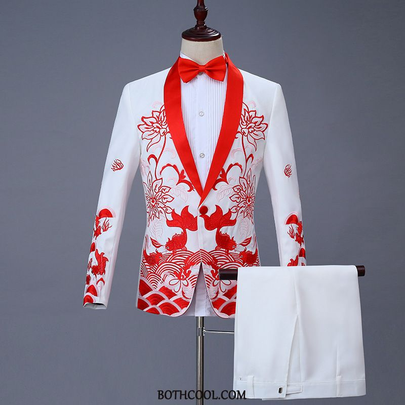 Suits Mens Online Sale Middle Presided Over Men Costumes New Autumn